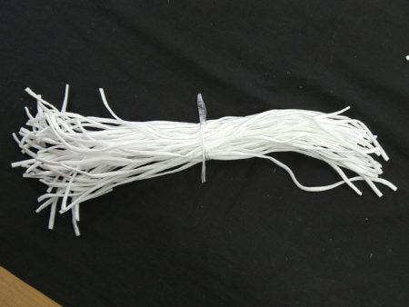50本のゴム紐の束