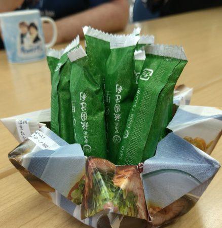 折り紙の容器?